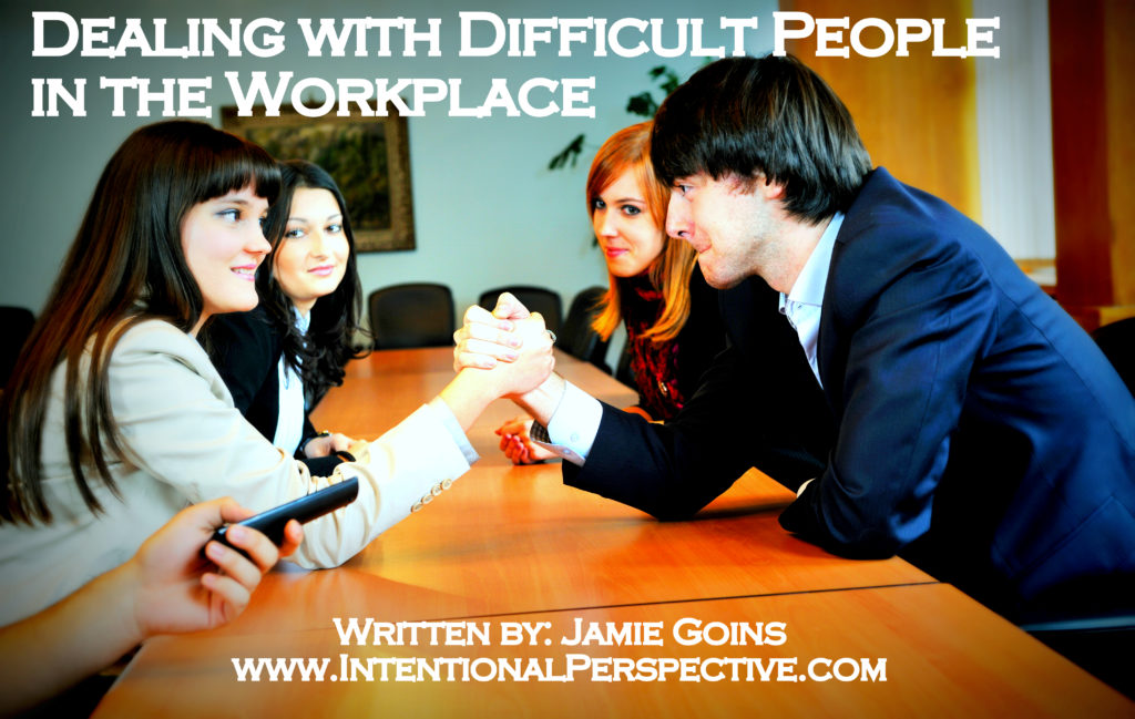 dealing w difficult people